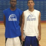Jaron Hopkins and Jalen Richards