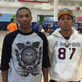 Jahii Carson and DeWayne Russell